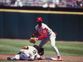 Pokey reese cincinnati reds Photo libre de droits