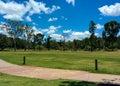 Pokojowy dzień w australijskim arboretum Obrazy Stock