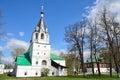 Pokrovskaya protection of virgin church in alexander sloboda vladimir region golden ring of russia Stock Photo