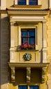 Poland ancient balcony Stock Images