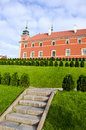 Poland capital Warsaw kings palace Royalty Free Stock Images