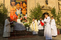Poland during the celebration the feast of corpus christi body of christ krakow jun also known as domini is a latin rite Stock Photo