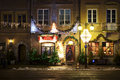 Poland: Cozy restaurant in Warsaw Stock Photo