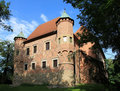 Poland - Debno castle Stock Images