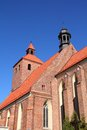 Poland grudziadz in pomerania region of old church Royalty Free Stock Images