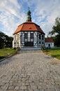 Poland (Lower Silesia) - round country church Stock Photos