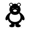 Polar bear cute character