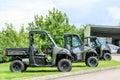 Polaris utility vehicle Royalty Free Stock Photo