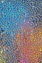 Polarized glass beads Royalty Free Stock Photo