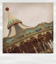 Polaroid carousel Royalty Free Stock Photo