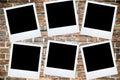 Polaroid Photo frame Royalty Free Stock Photo