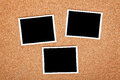Polaroid photo frames Royalty Free Stock Photo
