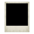 Polaroid  photo isolated Royalty Free Stock Photo
