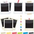 Polaroids Set Royalty Free Stock Photo