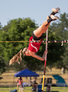 Pole Vaulter Royalty Free Stock Photo