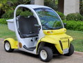 Police Electric Vehicle Stock Photography