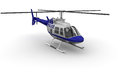 Police Helicopter Royalty Free Stock Photo