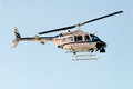 Police helicopter tel aviv jan israeli on air patrol on jan it commonly use for traffic control ground support search and rescue Stock Photo