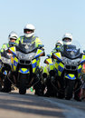 Police Motorcycle Officers Royalty Free Stock Photos