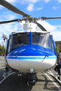 Police Rescue Helicopter Royalty Free Stock Photography