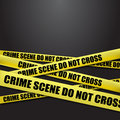 Police tape Stock Images