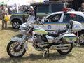 Police vehicles Royalty Free Stock Photo