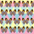 Poligonalny motyliego wzoru tło Obrazy Royalty Free