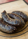 Polish blood sausage Stock Photography