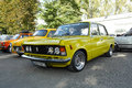 Polish classic cars three fiat p syrena fiat p Royalty Free Stock Photography