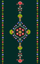 Polish embroidery pattern this is design Royalty Free Stock Photos