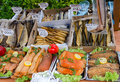 Polish fish market Stock Image
