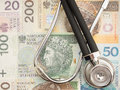 Polish healthcare costs Royalty Free Stock Photo
