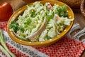 Polish Leek Salad
