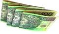 Polish money pln poland Royalty Free Stock Photos
