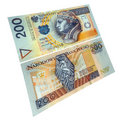 Polish paper currency Stock Photos