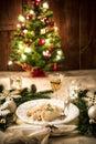 Tasty  polish traditional christmas pierogi
