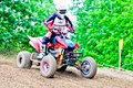 Polish western zone motocross championship round vi poland nowogard june nowogard june Stock Photography