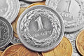 Polish zloty coins one Royalty Free Stock Photography