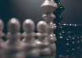 Political dialogue. Danger chess game. Conflict of interest. Royalty Free Stock Photo
