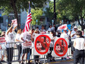 Donald Trump Political Protesters