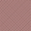 Polka dot brown seamless background and pink Stock Image
