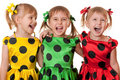 Polka dot fun Royalty Free Stock Photo