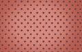 Polka Dot With Orange Pastel C...