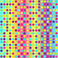 Polka dot pattern. Seamless vector geometric background