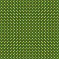 The polka dot pattern. Seamless vector illustration with round circles, dots. Yellow and green.