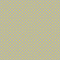 The polka dot pattern. Seamless vector illustration with round circles, dots. Yellow and taupe.