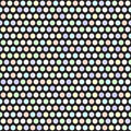 Polka dot pattern. Vector seamless geometric dot background