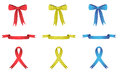 Polka Dot Ribbons Royalty Free Stock Image