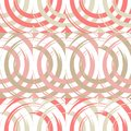 Polka dot seamless pattern. Circles in the square. Manual hatching. Brushwork. Scribble texture.