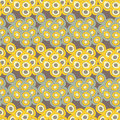 Polka dot seamless pattern. Vector illustration. Retro motif.